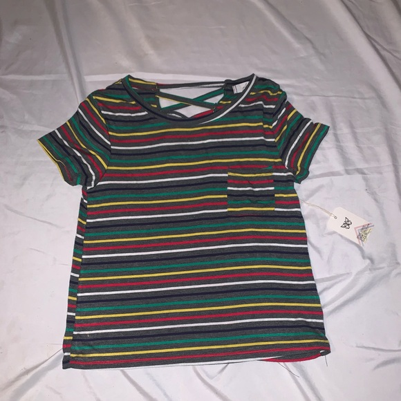 220eb3287b4 Colorful striped shirt. NWT